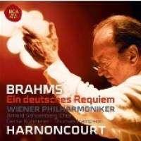 Cover Wiener Philharmoniker / Nikolaus Harnoncourt - Ein deutsches Requiem - Brahms