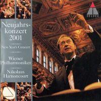 Cover Wiener Philharmoniker / Nikolaus Harnoncourt - Neujahrskonzert 2001