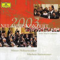 Cover Wiener Philharmoniker / Nikolaus Harnoncourt - Neujahrskonzert 2003