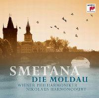 Cover Wiener Philharmoniker / Nikolaus Harnoncourt - Smetana: Die Moldau