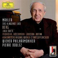 Cover Wiener Philharmoniker / Pierre Boulez - Mahler / Berg