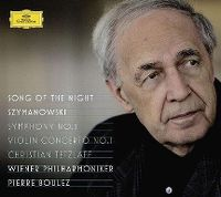 Cover Wiener Philharmoniker / Pierre Boulez - Song Of The Night - Szymanowski