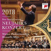 Cover Wiener Philharmoniker / Riccardo Muti - Neujahrskonzert 2018 - New Year's Concert