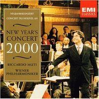 Cover Wiener Philharmoniker / Riccardo Muti - New Year's Concert 2000