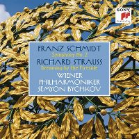 Cover Wiener Philharmoniker / Semyon Bychkov - Franz Schmidt: Symphony No. 2 - Richard Strauss: Dreaming By The Fireside