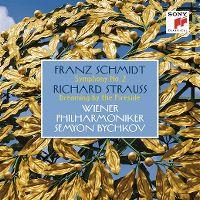 Cover Wiener Philharmoniker / Semyon Bychkov - Franz Schmidt: Symphony No. 2 - Richard Strauss: Dreaming By The Fireside