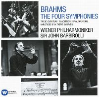 Cover Wiener Philharmoniker / Sir John Barbirolli - Brahms: The Four Symphonies