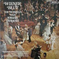 Cover Wiener Philharmoniker / Willi Boskovsky en Hans Knapperts Busch - Wiener Blut - De wereld van Johann Strauss