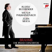 Cover Wiener Philharmoniker / Zubin Mehta / Rudolf Buchbinder - Brahms: The Piano Concertos