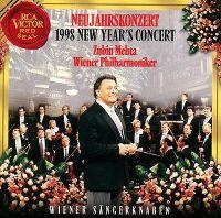 Cover Wiener Philharmoniker / Zubin Metha - Neujahrskonzert 1998