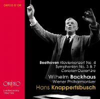Cover Wilhelm Backhaus / Wiener Philharmoniker / Hans Knappertsbusch - Beethoven