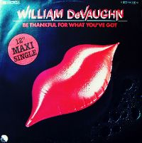 Cover William DeVaughn - Be Thankful For What You Got '80
