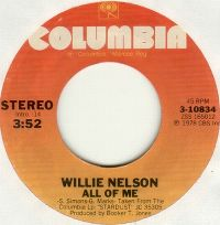 Cover Willie Nelson - All Of Me
