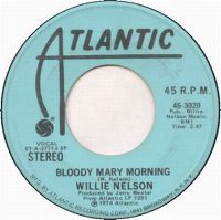 Cover Willie Nelson - Bloody Mary Morning
