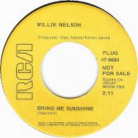 Cover Willie Nelson - Bring Me Sunshine