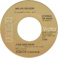 Cover Willie Nelson - Fire And Rain