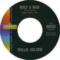 Cover Willie Nelson - Half A Man