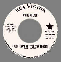 Cover Willie Nelson - I Just Can't Let You Say Goodbye