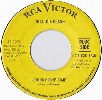 Cover Willie Nelson - Johnny One Time