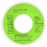 Cover Willie Nelson - Mountain Dew