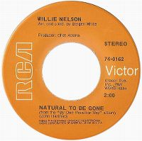 Cover Willie Nelson - Natural To Be Gone