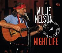 Cover Willie Nelson - Night Life - Live And In The Studio