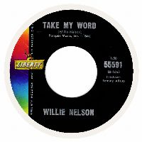 Cover Willie Nelson - Take My Word
