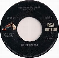 Cover Willie Nelson - The Party's Over