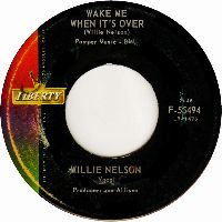 Cover Willie Nelson - Wake Me When It's Over