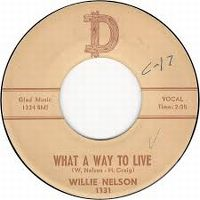 Cover Willie Nelson - What A Way To Live