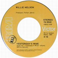 Cover Willie Nelson - Yesterday's Wine