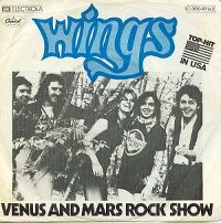 Cover Wings - Venus And Mars Rock Show