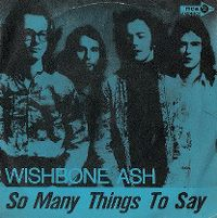 Cover Wishbone Ash - So Many Things To Say