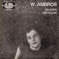 Cover Wolfgang Ambros - Da Hofa