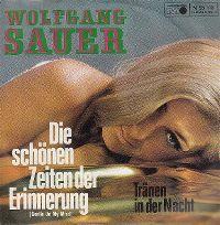 Cover Wolfgang Sauer - Die schönen Zeiten der Erinnerung