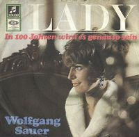 Cover Wolfgang Sauer - Lady