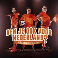 Cover Wolter Kroes, Yes-R & Ernst Daniël Smid - Ben je ook voor Nederland? - De geluksvogeltjesdans