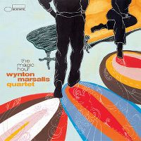 Cover Wynton Marsalis Quartet - The Magic Hour