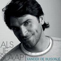 Cover Xander de Buisonjé - Als je slaapt