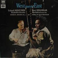 Cover Yehudi Menuhin / Ravi Shankar - West Meets East