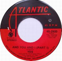 Cover Yes - And You And I