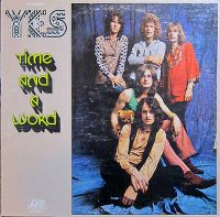Cover Yes - Time And A Word