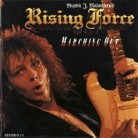 Cover Yngwie J. Malmsteen's Rising Force - Marching Out
