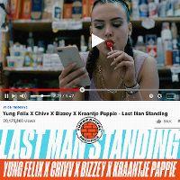 Cover Yung Felix, Chivv, Bizzey & Kraantje Pappie - Last Man Standing