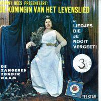 Cover Zangeres Zonder Naam - Achter in het stille klooster