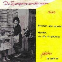 Cover Zangeres Zonder Naam - Bloemen aan moeder