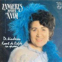 Cover Zangeres Zonder Naam - De kinderen