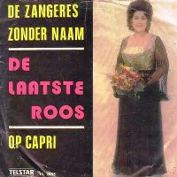 Cover Zangeres Zonder Naam - De laatste roos