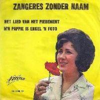 Cover Zangeres Zonder Naam - Het lied van het pierement