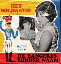 Cover Zangeres Zonder Naam - Het soldaatje (de vier raadsels)